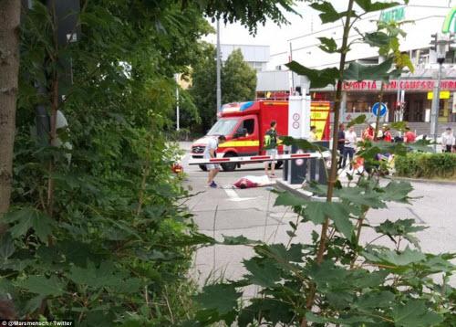 Ảnh hiện trường xả súng khiến 10 người chết ở Đức - 3
