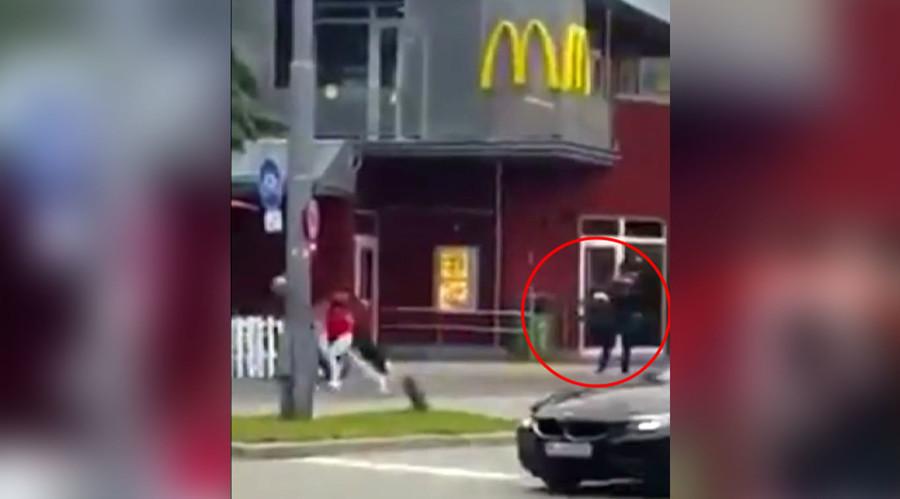 Video: Tay súng điên cuồng bắn người đi đường ở Đức - 1