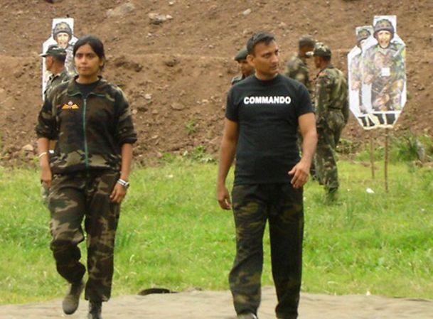 Tài nghệ của nữ huấn luyện biệt kích duy nhất Ấn Độ - 6