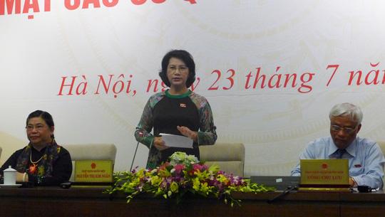 Chủ tịch QH: Ông Võ Kim Cự có trách nhiệm trả lời về Formosa - 1