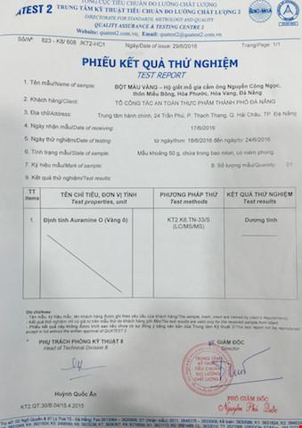 Đà Nẵng: Tạm đình chỉ 'lò' nhuộm gà bằng chất vàng ô - 3