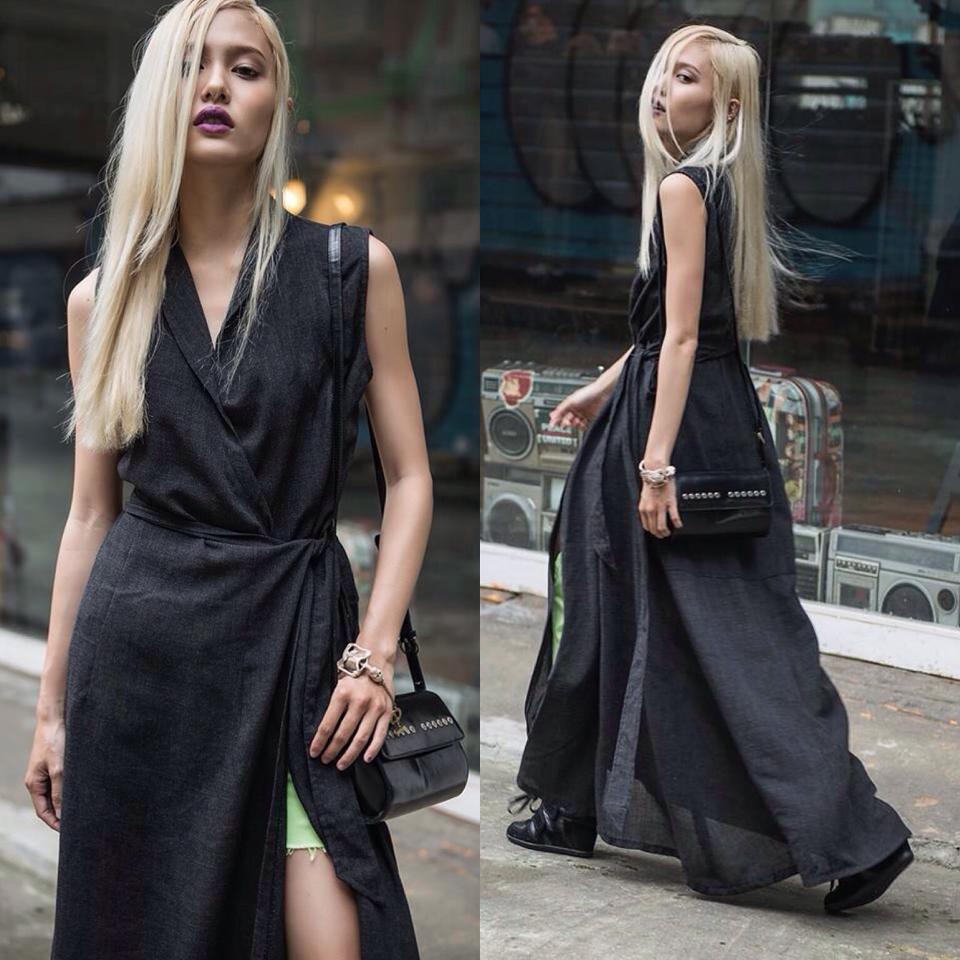 Stree style chuẩn fashionista của hot girl Fung La - 2