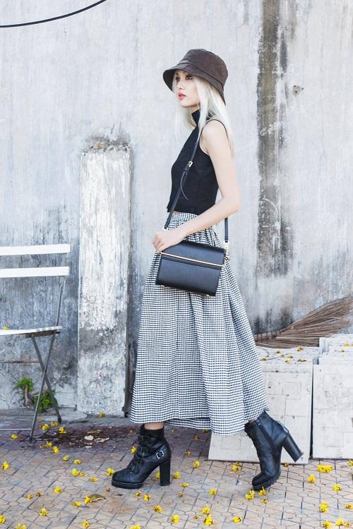 Stree style chuẩn fashionista của hot girl Fung La - 3