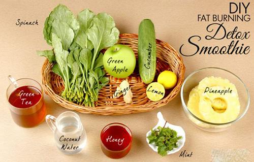 Tự chế sinh tố rau quả để giảm cân nhanh trong ngày hè - 1