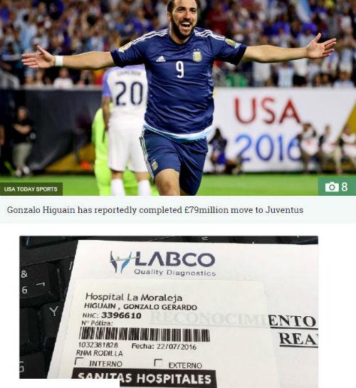 Juventus gây sốc, bỏ 79 triệu bảng chiêu mộ Higuain - 1