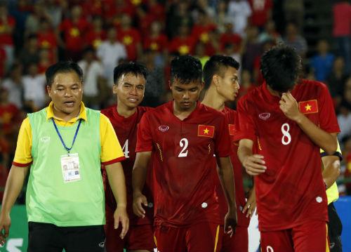 Thua tức tưởi, U16 Việt Nam khóc như mưa nhận HCB - 10