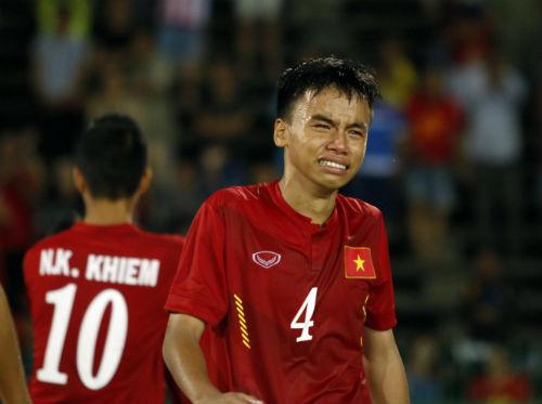 Thua tức tưởi, U16 Việt Nam khóc như mưa nhận HCB - 11