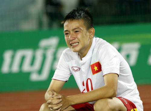 Thua tức tưởi, U16 Việt Nam khóc như mưa nhận HCB - 13