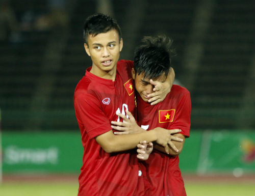 Thua tức tưởi, U16 Việt Nam khóc như mưa nhận HCB - 8