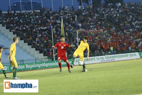 U16 Việt Nam - U16 Úc: Mưa bàn thắng và những giọt nước mắt - 1