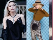 Thời trang - Stree style chuẩn fashionista của hot girl Fung La
