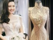 Bật mí về áo dài, váy cưới kỳ công của Ngọc Lan