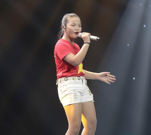 """The Voice Kids tập 1: Đông Nhi """"hốt"""" hết thí sinh xuất sắc - 11"""