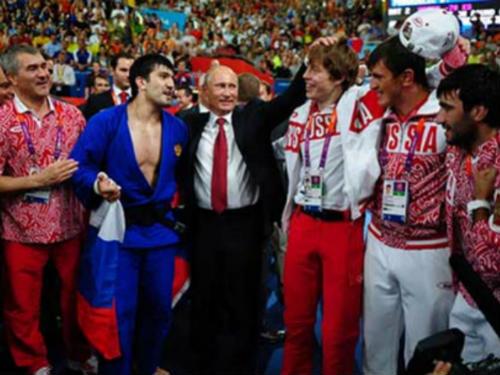 Tổng thống Putin trước đại dịch doping ở Nga - 1