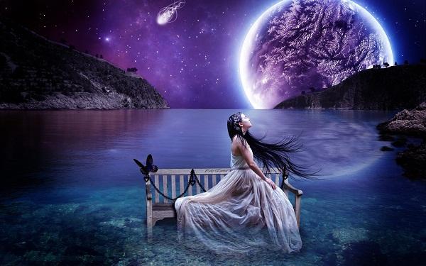 Thơ tình: Bóng trăng đơn - 1