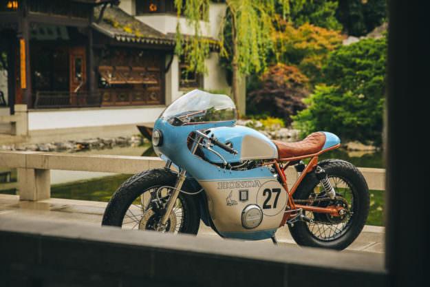 Ngắm Anthony Honda CB550 độ phong cách cafe racer - 1