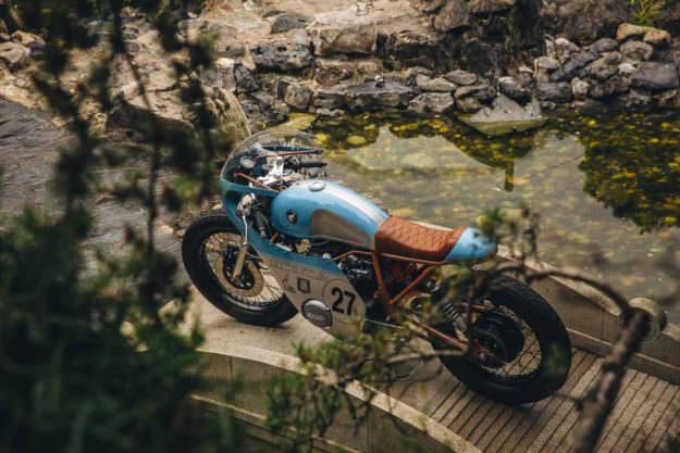 Ngắm Anthony Honda CB550 độ phong cách cafe racer - 2