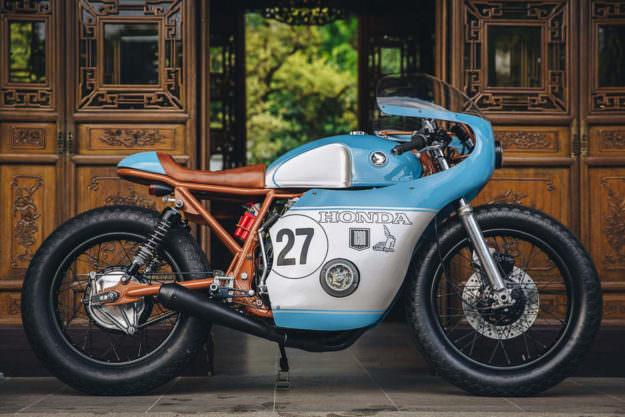 Ngắm Anthony Honda CB550 độ phong cách cafe racer - 6