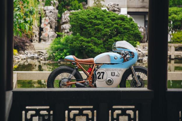 Ngắm Anthony Honda CB550 độ phong cách cafe racer - 5