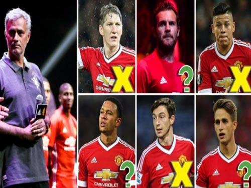 Mourinho thanh lọc MU: 3 chắc chắn đi, 8 bấp bênh - 1