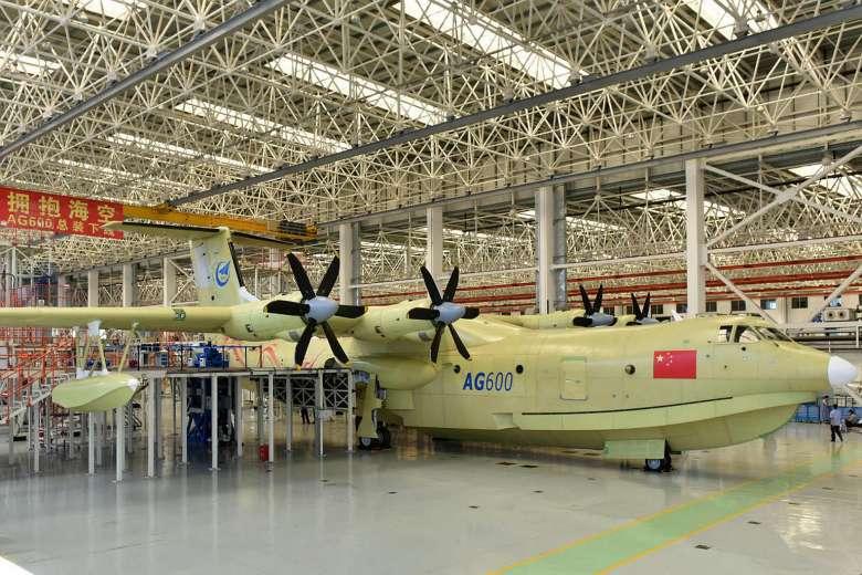 Trung Quốc sản xuất thủy phi cơ lớn nhất thế giới - 1
