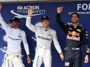 F1: Phân hạng Hungarian GP – Rosberg đoạt pole