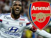 Tin chuyển nhượng 24/7: Arsenal chi 40 triệu bảng mua SAO Lyon
