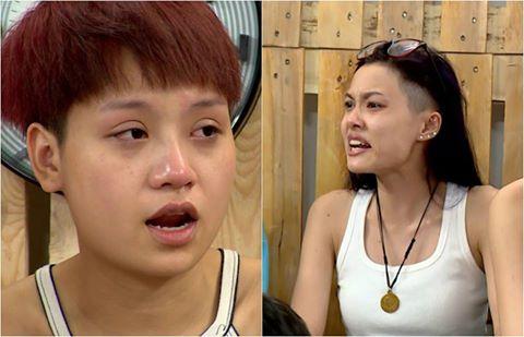 2 hot girl tranh cãi ầm ĩ tại Vietnam's Next Top Model - 1
