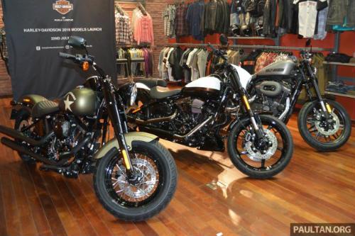 Harley-Davidson tung loạt sản phẩm mới tại Malaysia - 1