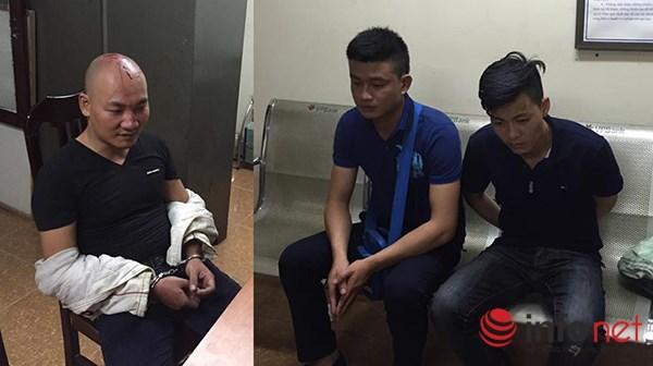 """Ba thanh niên lao vào hỗn chiến vì cho rằng """"nhìn đểu"""" nhau - 1"""