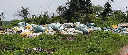 Bãi rác có giang hồ gác: Chủ đất chứa rác độc nói gì? - 2