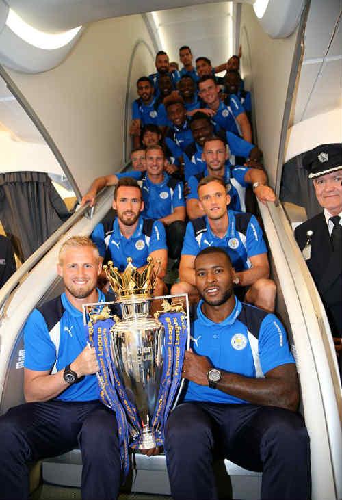 Leicester đến Mỹ: Không CĐV, chỉ có tiếp viên và Beckham - 4