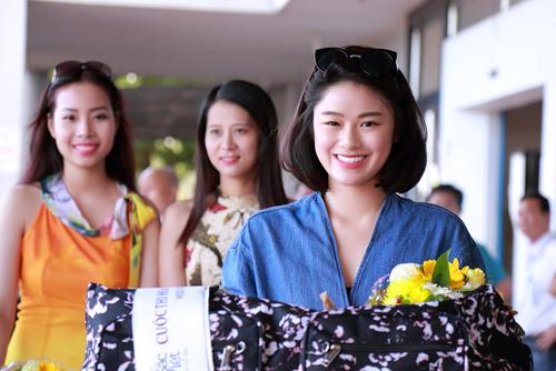 Mỹ nhân lai rạng rỡ dự vòng chung kết HH Bản sắc Việt - 13
