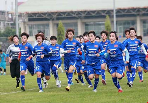 Đội tuyển nữ khát khao cúp vàng AFF - 1