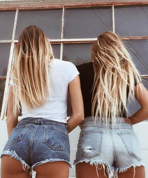 Da nâu sexy, mặc quần short jeans cũng đẹp! - 13
