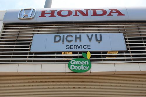 Đại lý Ô tô Honda đạt tiêu chuẩn Đại lý Xanh trên toàn hệ thống! - 1