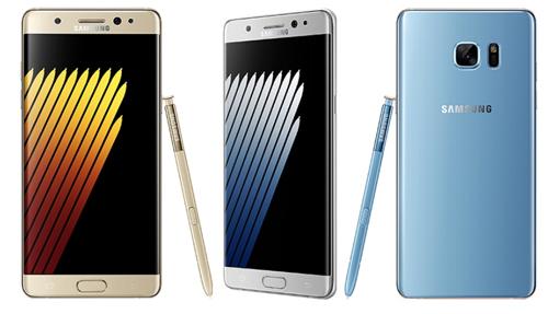 Galaxy Note 7 có camera 12MP, dùng pin 3.500 mAh - 1