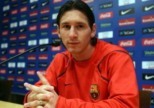 """Kiểu tóc Messi: Từ thư sinh thành """"tay chơi"""" số 1 - 1"""