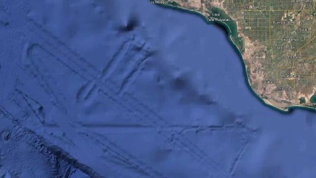 """Phát hiện thành phố """"ngoài hành tinh"""" nhờ Google Earth? - 1"""