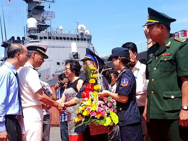 Tàu Lực lượng bảo vệ bờ biển Nhật Bản cập cảng Tiên Sa - 2
