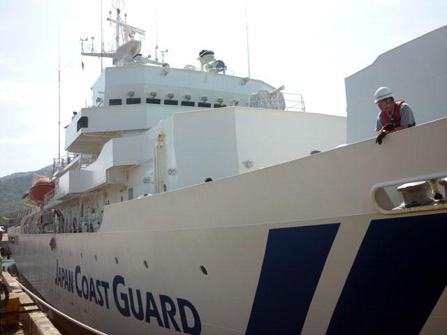 Tàu Lực lượng bảo vệ bờ biển Nhật Bản cập cảng Tiên Sa - 4