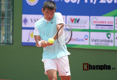 Hoàng Nam vào vòng 2 Men's Futures gặp hạt giống số 1 - 1