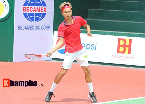 Hoàng Nam vào vòng 2 Men's Futures gặp hạt giống số 1 - 2