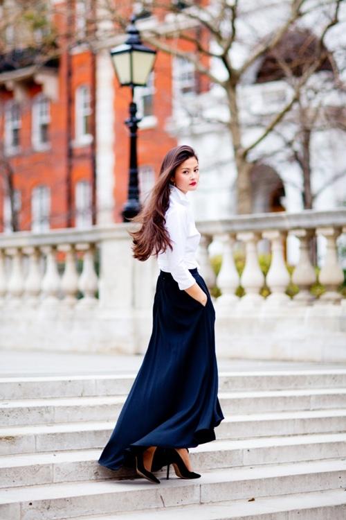 Kiểu chân váy dễ biến phái đẹp thành nữ thần công sở - 5