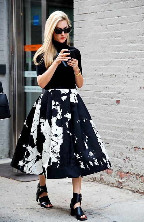 Kiểu chân váy dễ biến phái đẹp thành nữ thần công sở - 8