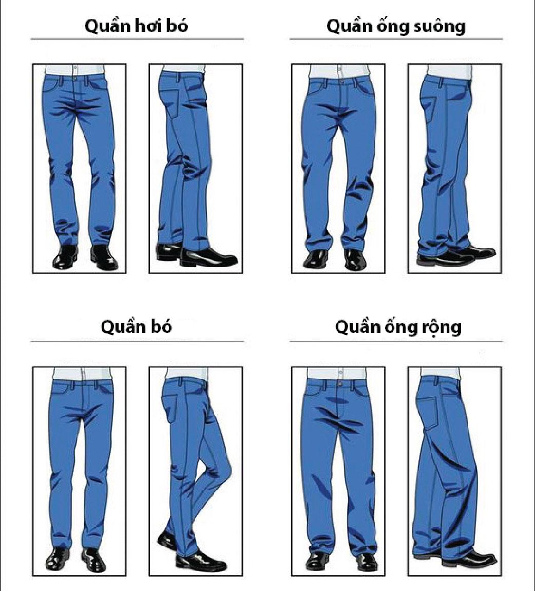 Bí kíp chọn quần jeans phù hợp với vóc dáng - 2