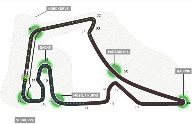 Lịch thi đấu F1: Germany GP 2016 - 1