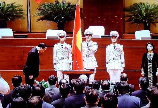 Chủ tịch nước Trần Đại Quang tuyên thệ nhậm chức - 3