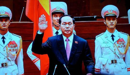Chủ tịch nước Trần Đại Quang tuyên thệ nhậm chức - 4