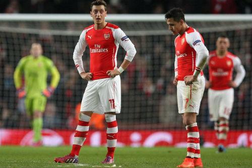 """Sanchez, Ozil bị chê chưa đủ """"trình"""" gánh vác Arsenal - 3"""